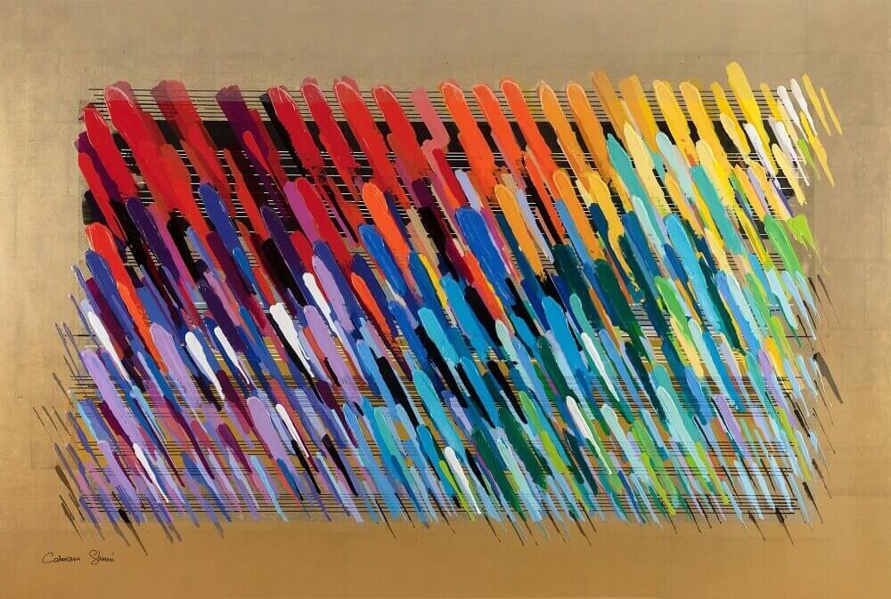 Golden Notes – Chicago Blues - Calman Shemi - Eden Gallery