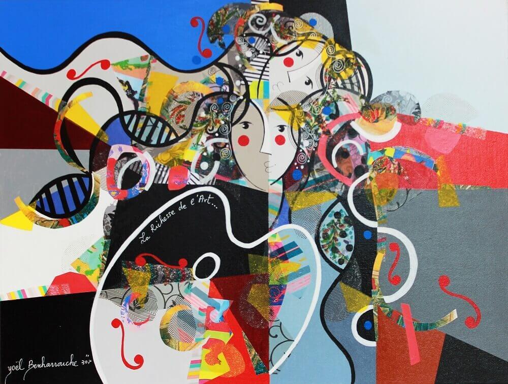 La Richesse de L'Art - Yoel Benharrouche - Eden Gallery