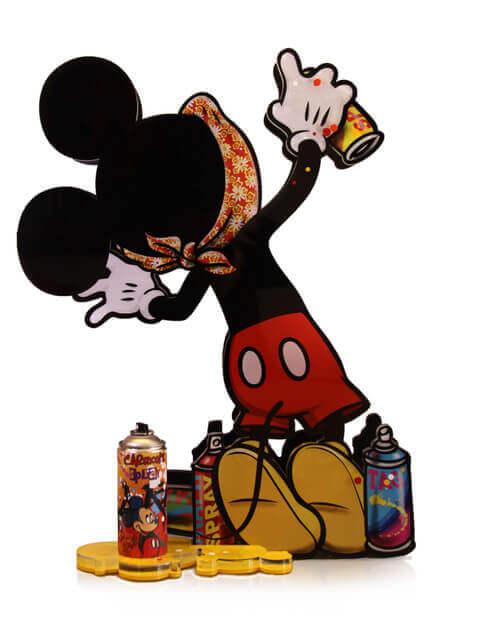 Mickey Mouse 3D – Graffiti Spray - F&G - Eden Gallery