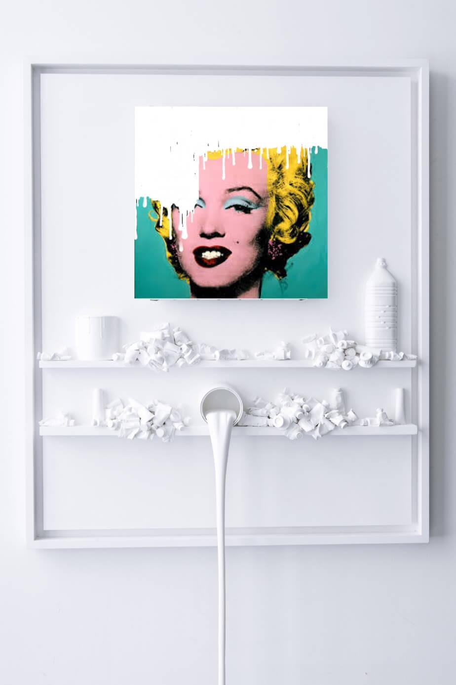 Flow – Marilyn - Paul Sibuet - Eden Gallery
