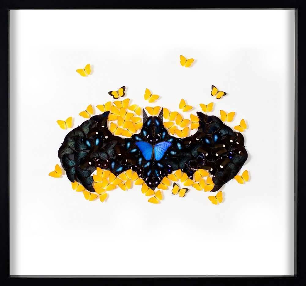 Batman Butterfly White - SN - Eden Gallery