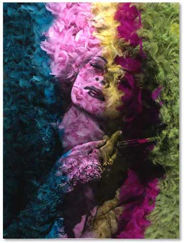 Rita Hayworth - Daniel Gastaud - Eden Gallery