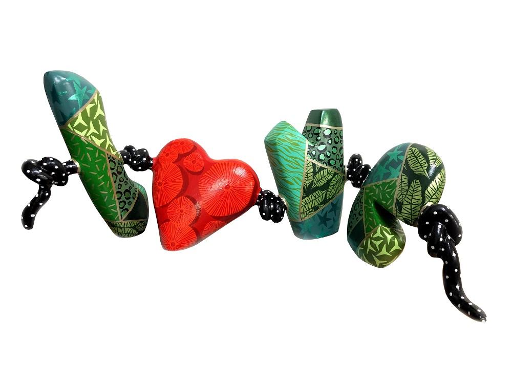 Beads of Love - Cactus - Dorit Levinstein - Eden Gallery