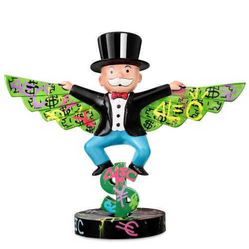 Monopoly Money Wings (Man flying)