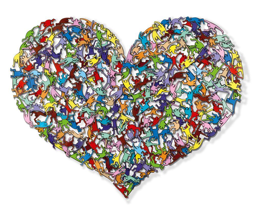 Pop Heart - Mini - David Kracov - Eden Gallery