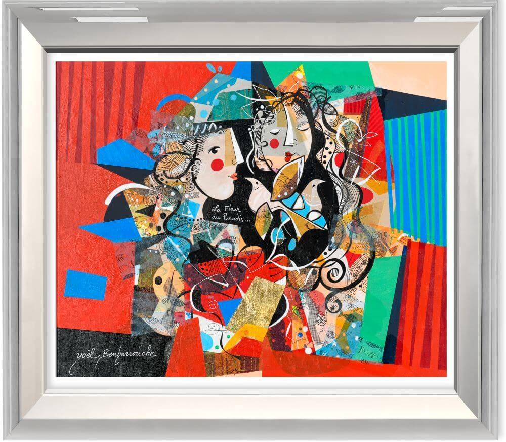 La Fleur du Paradis  - Yoel Benharrouche - Eden Gallery