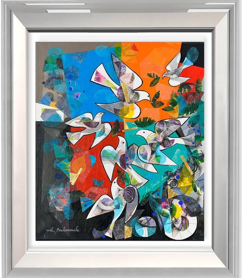 La Danse des Anges  - Yoel Benharrouche - Eden Gallery