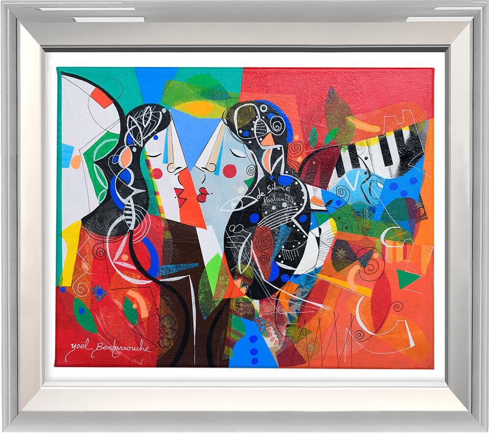 De silence Parlant  - Yoel Benharrouche - Eden Gallery