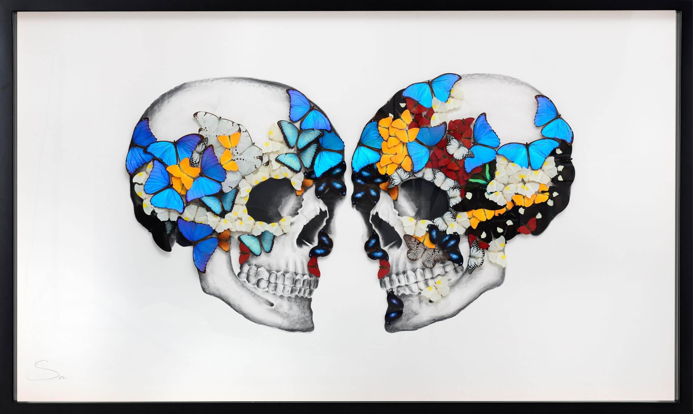 Double Skull White - SN - Eden Gallery