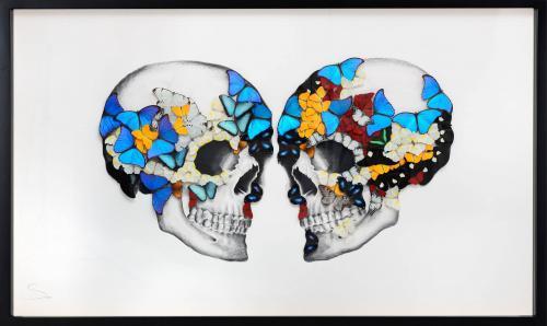 Double Skull White