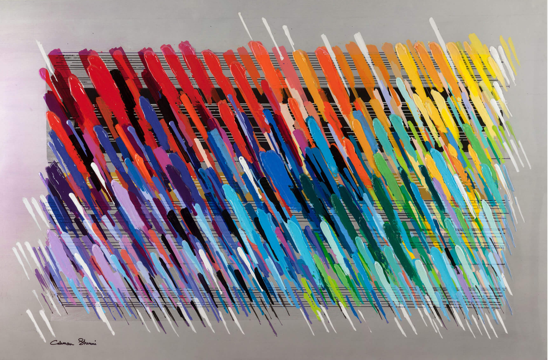 Notes Silver  - Calman Shemi - Eden Gallery