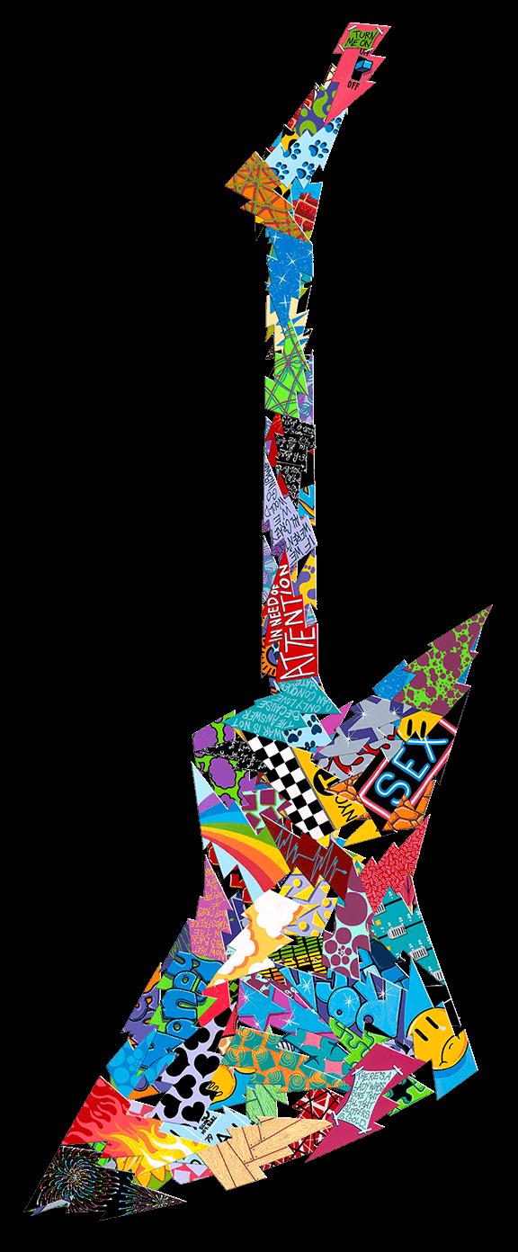 Electric Guitar - David Kracov - Eden Gallery