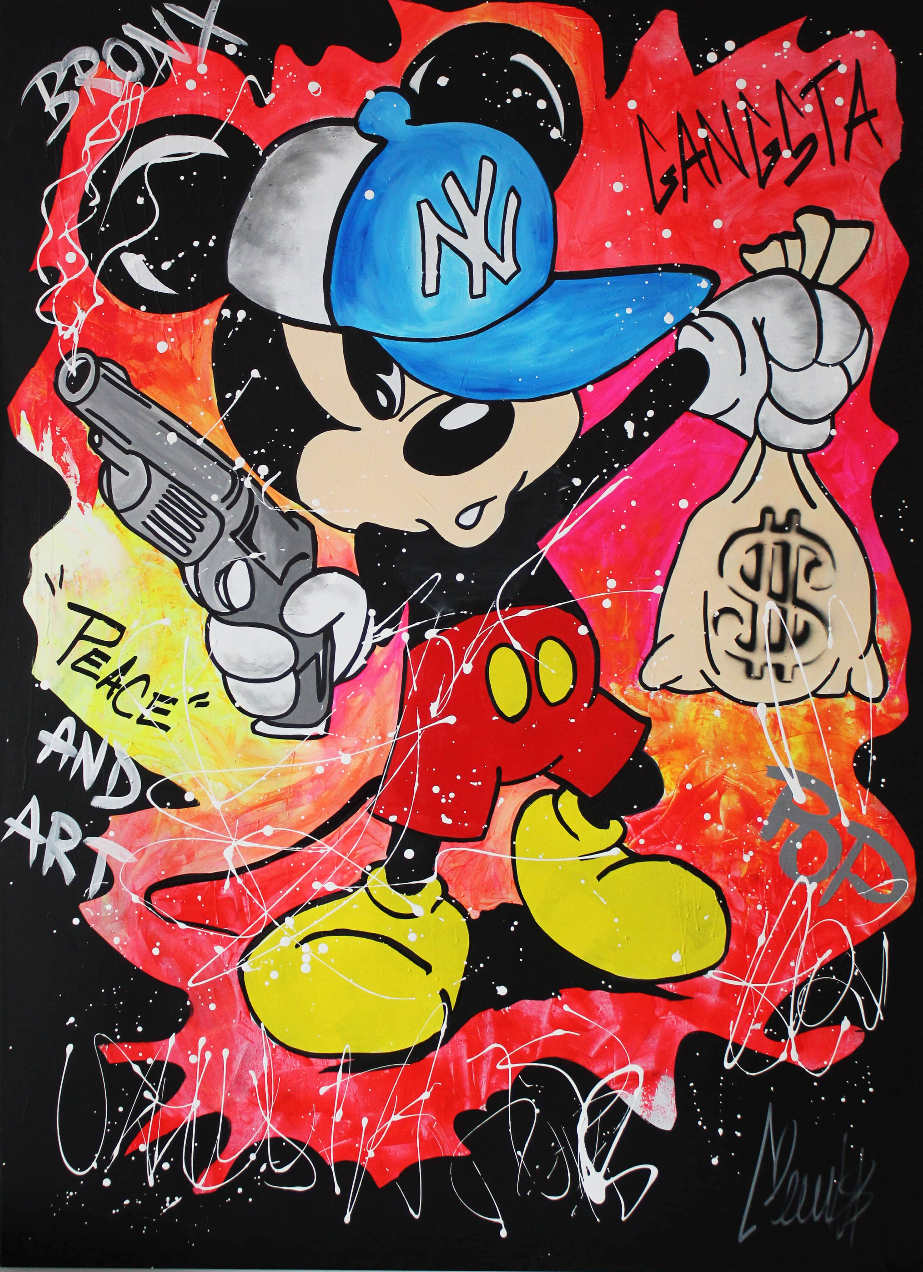 Gangsta Mickey  - Clem$ - Eden Gallery