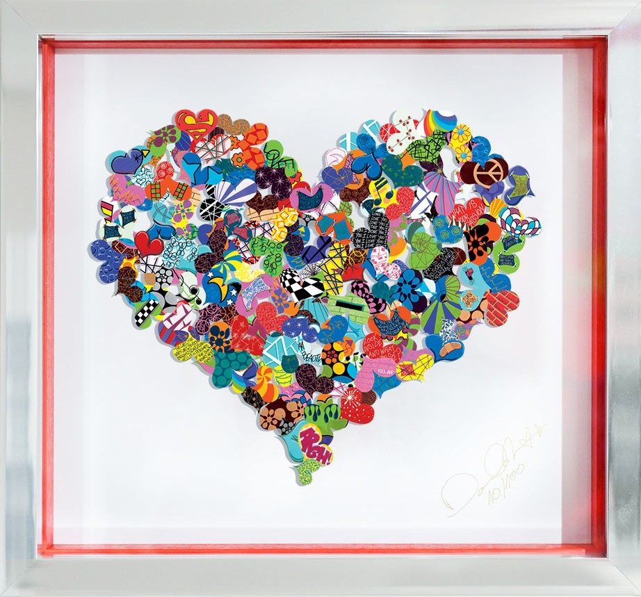 Look within your heart  - David Kracov - Eden Gallery