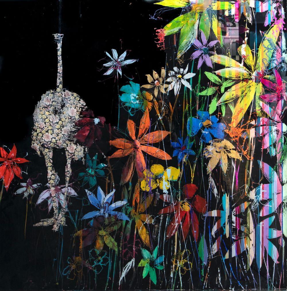 Flowers on Black  - Angelo Accardi - Eden Gallery