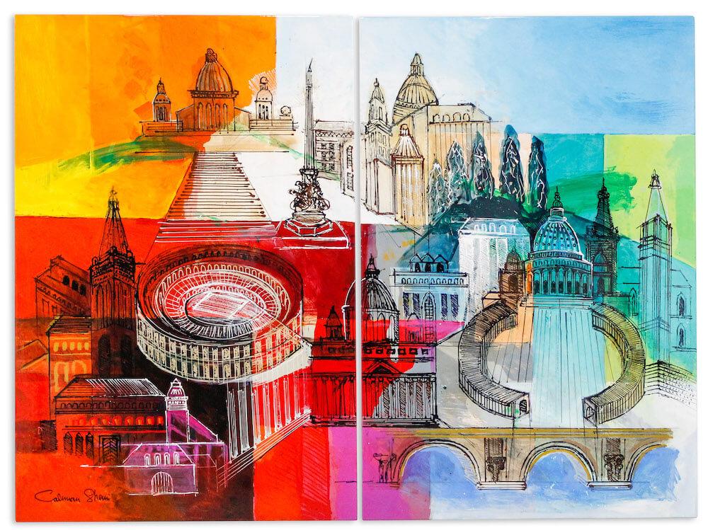 Roma  - Calman Shemi - Eden Gallery