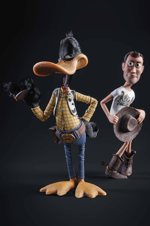 Daffy Duck & Woody  - Galy - Eden Gallery