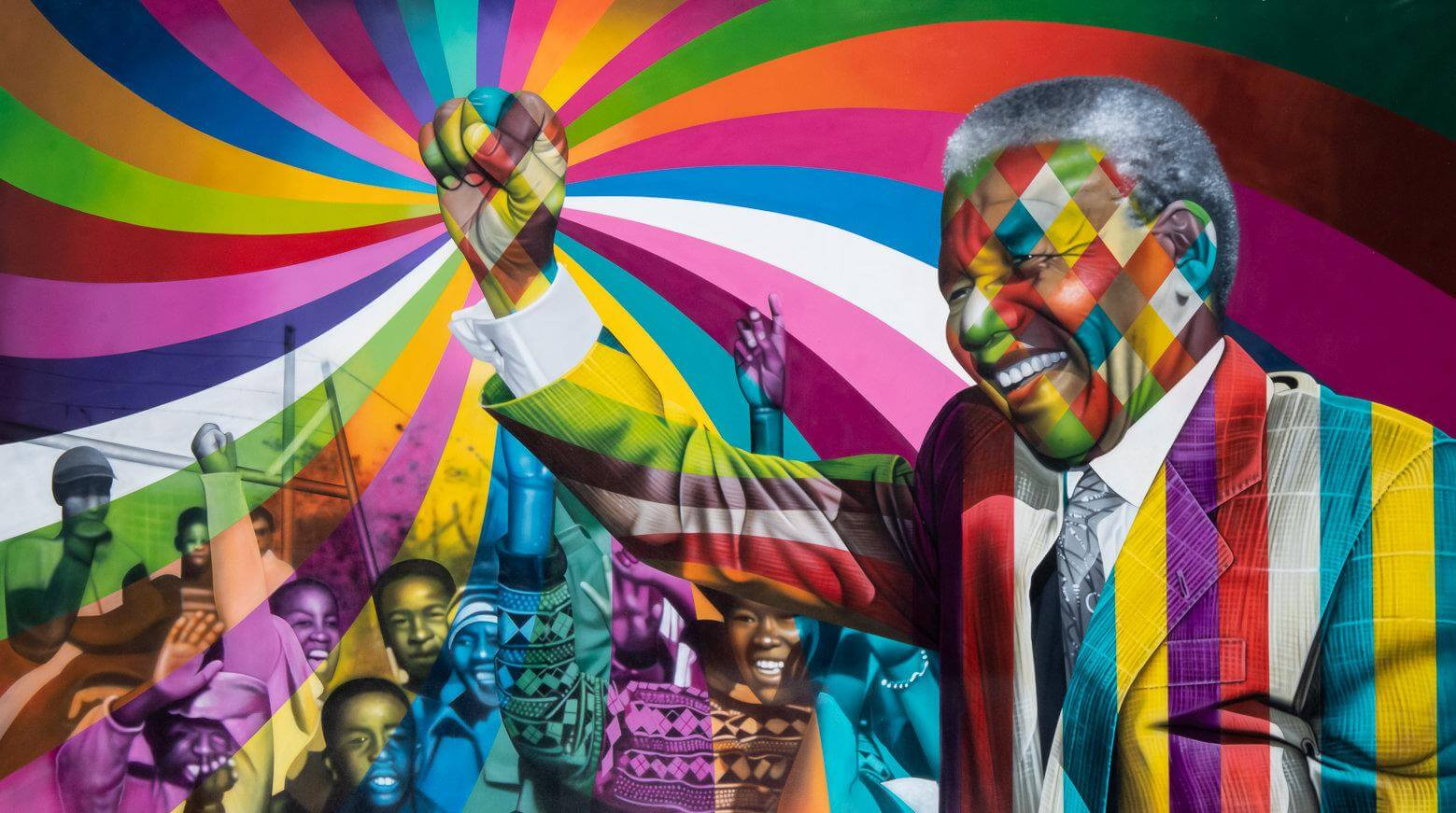Mandela - Eduardo Kobra - Eden Gallery