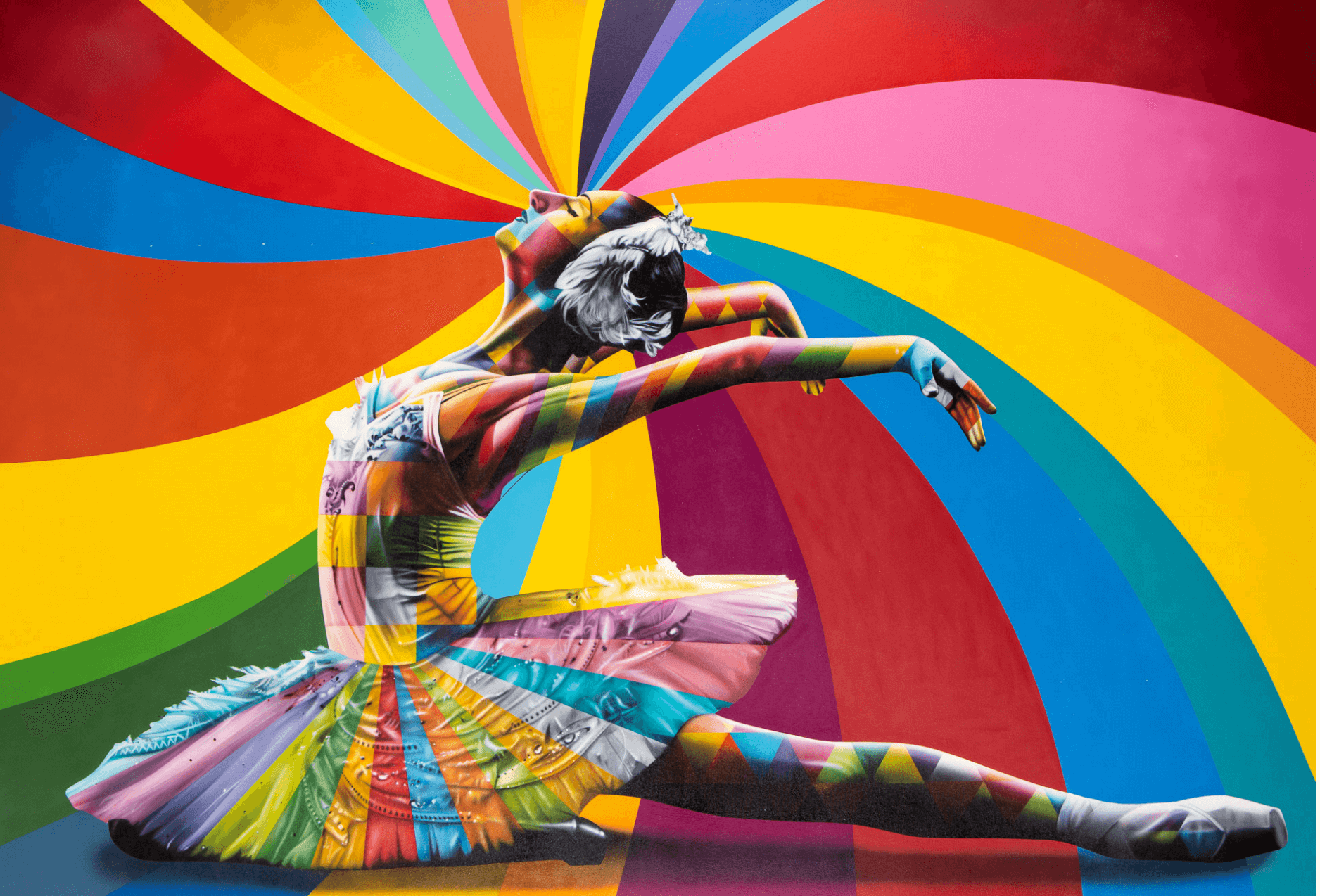 Bailarina Maya - Eduardo Kobra - Eden Gallery