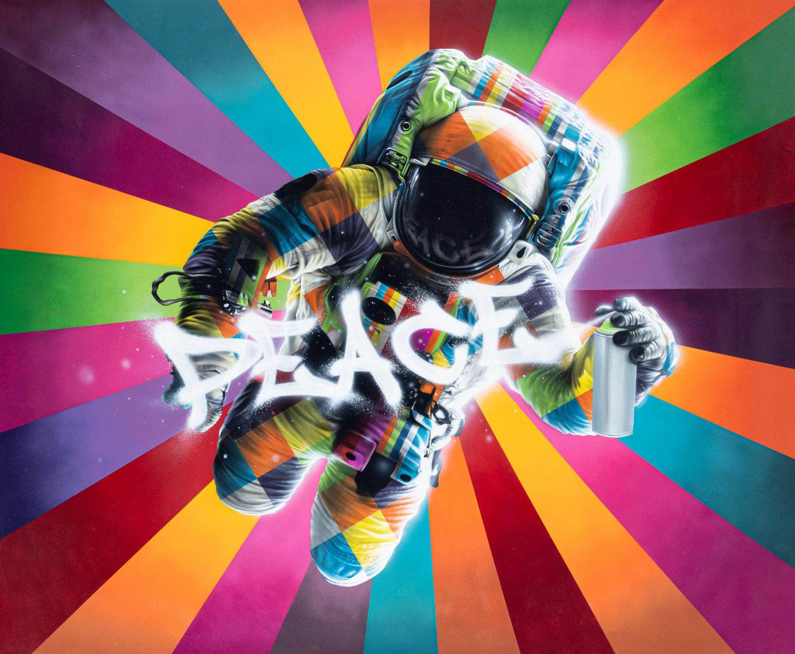 Astronauta - Eduardo Kobra - Eden Gallery