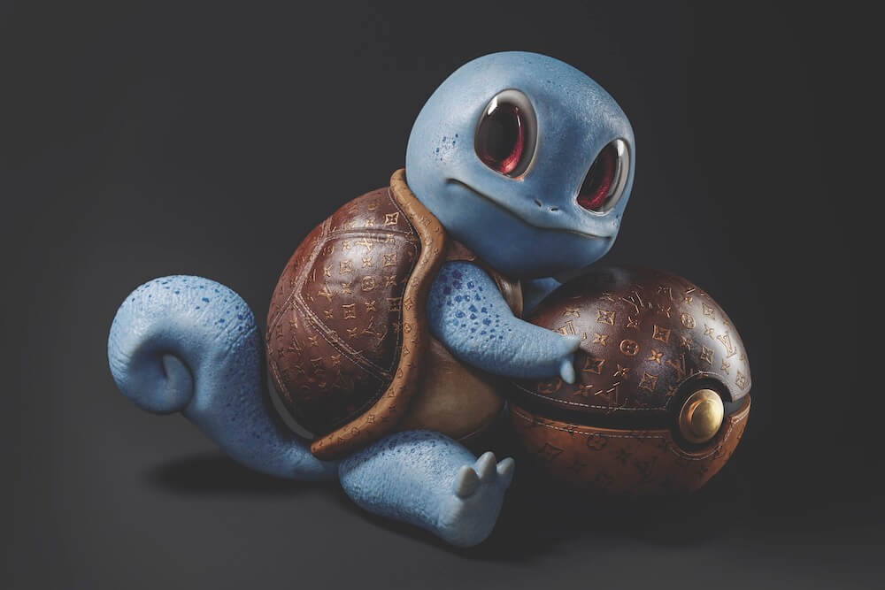 Squirtle  - Galy - Eden Gallery