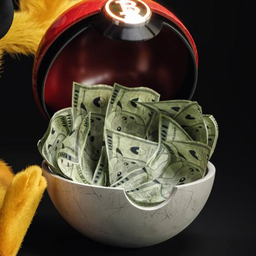Pikachu Loves Money