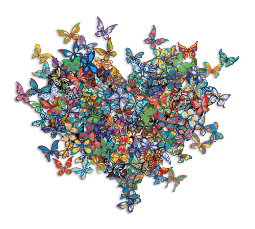 My Heart Is All a Flutter - Mini - David Kracov - Eden Gallery