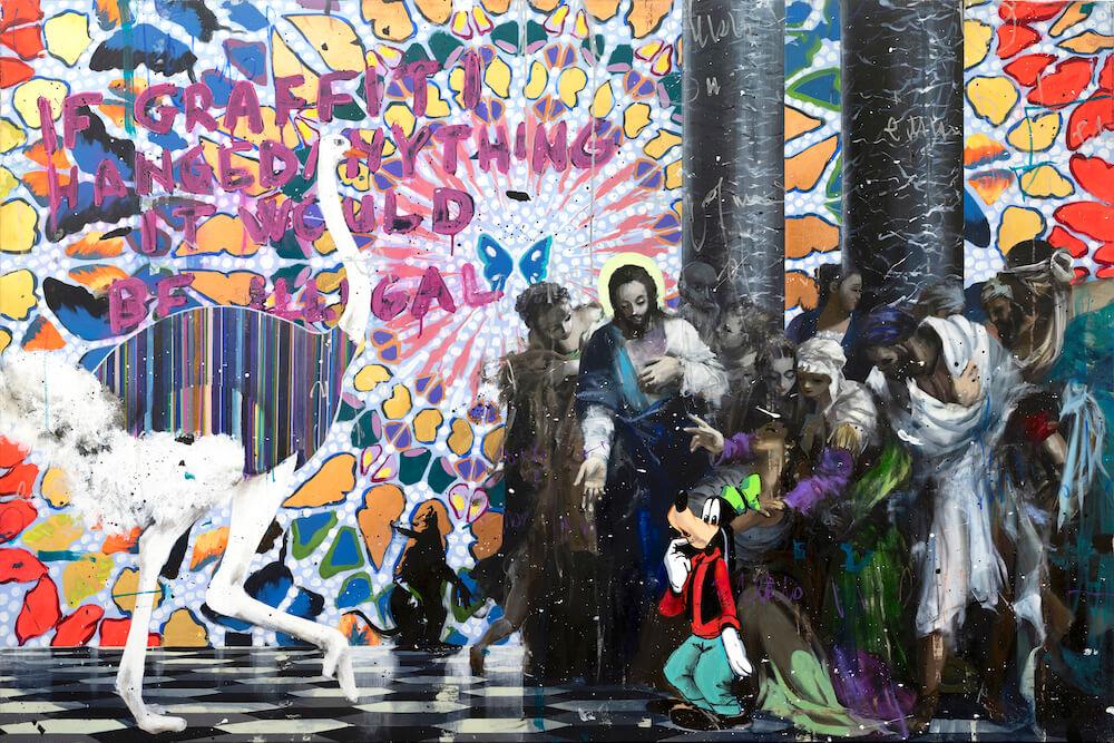 Banksy Has Been Here - Angelo Accardi - Eden Gallery