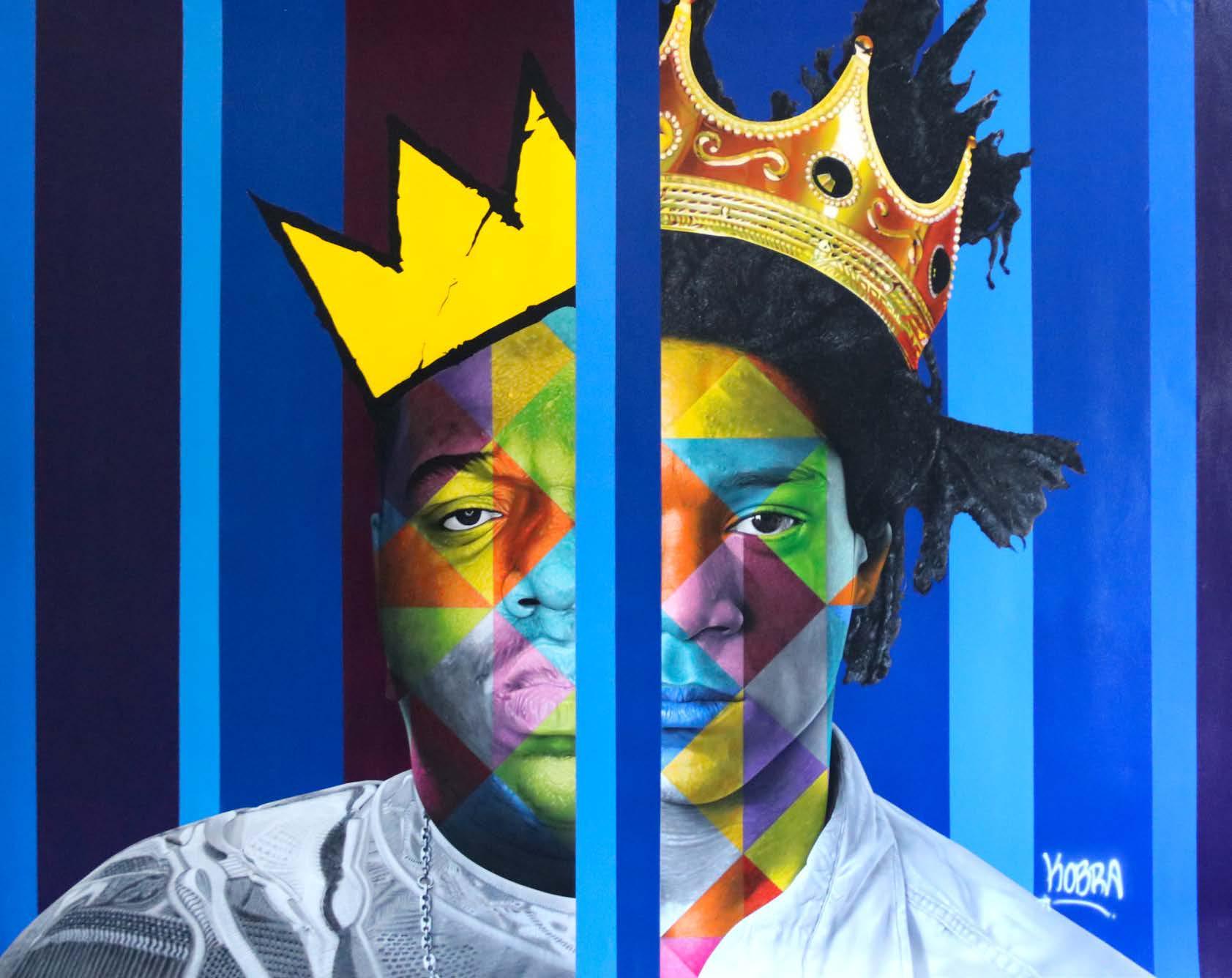 Basquiat  - Eduardo Kobra - Eden Gallery