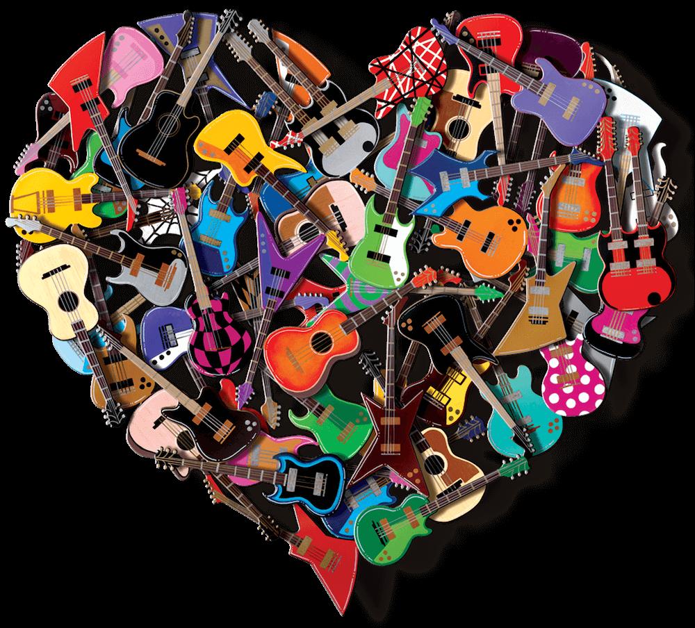 Heart of Rock 'N'Roll - David Kracov - Eden Gallery