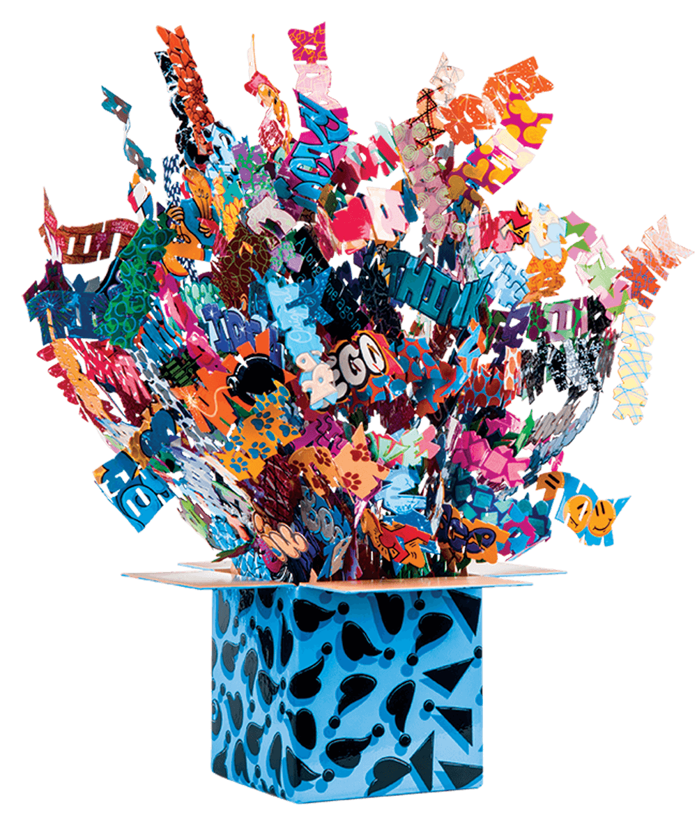 Thinking Outside The Box  3D - David Kracov - Eden Gallery