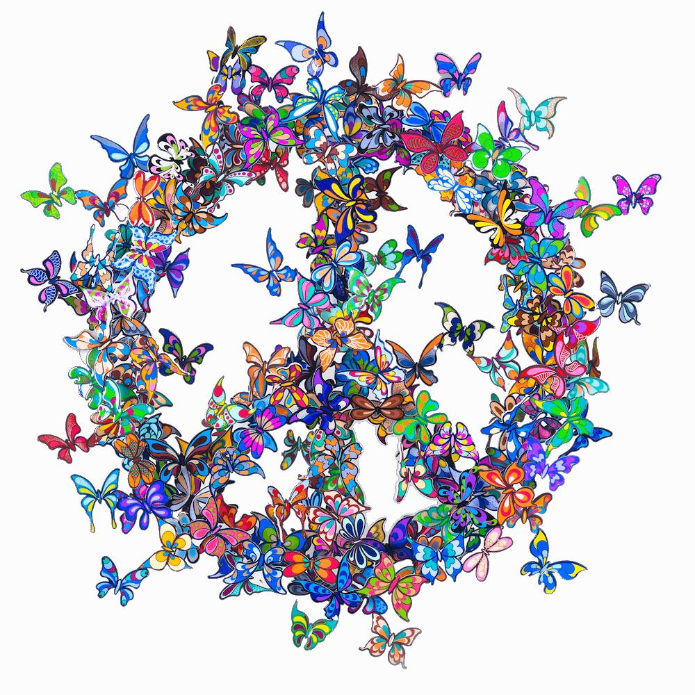 Butterfly Effect  - David Kracov - Eden Gallery