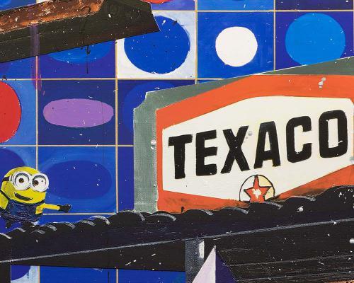 Vasarely in Texas  Sky