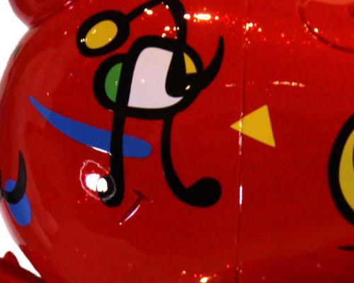 Cute Appleface – Tribute to Joan Miro