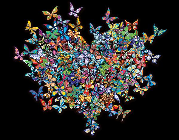 My Heart Is All a Flutter XXL - David Kracov - Eden Gallery